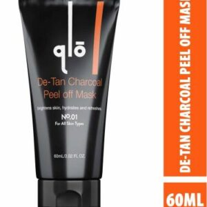 QLO Charcoal Peel Off Mask For Blackhead Removal, Deep Pore Cleansing and De Tan  (60 ml)